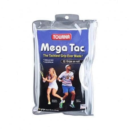 Tourna Mega Tac x10 - branco