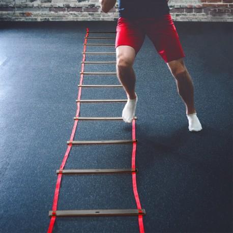 Escada de Agilidade - 4 mts - vermelho